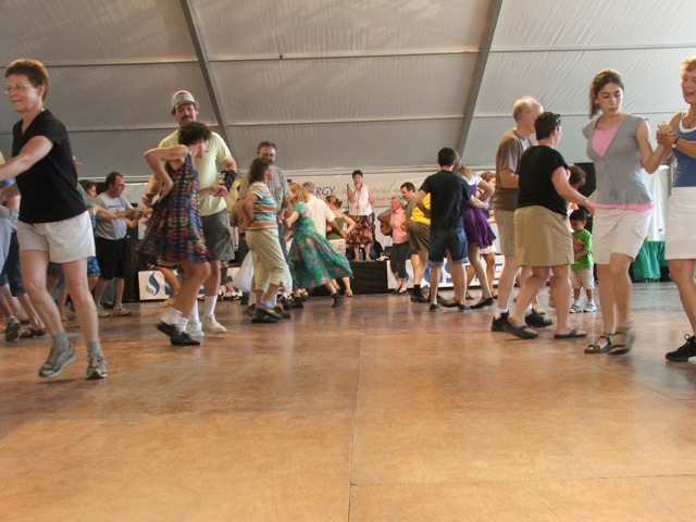 Dancing to the Boys at the 2008 Dublin Irish Festival